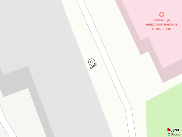 Борская поликлиника на карте Бора