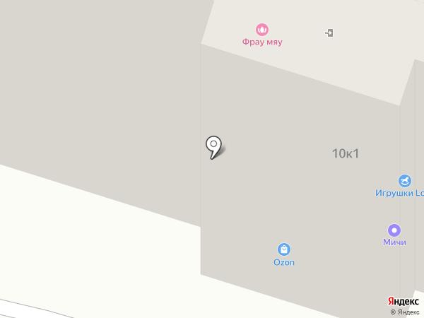 Павловская курочка на карте Бора