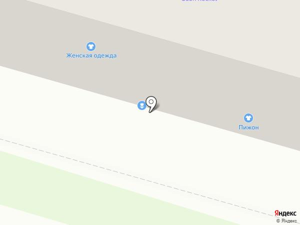 Цветочный салон на карте Бора