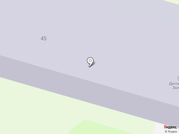 Санаторный на карте Бора