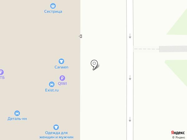 Уют на карте Нижнего Новгорода