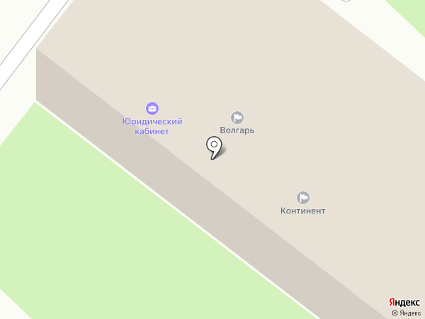 Континент на карте Бора