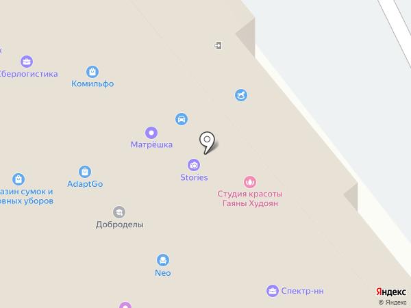 Лабиринт.ру на карте Нижнего Новгорода