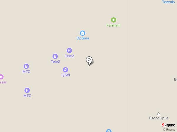 МТС на карте Федяково