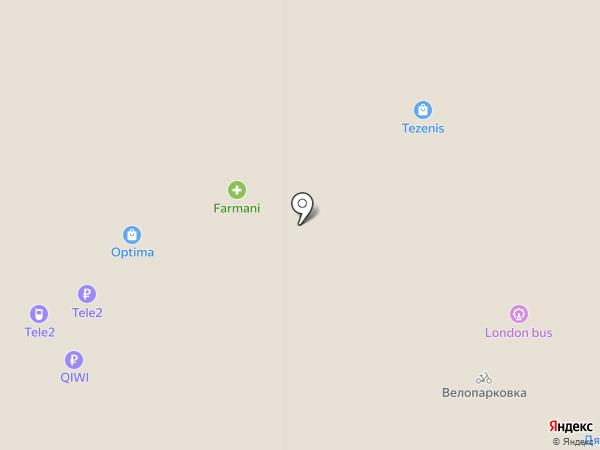 ТЕЛЕ2 на карте Федяково