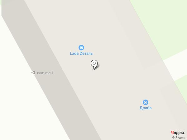 Драйв на карте Бора