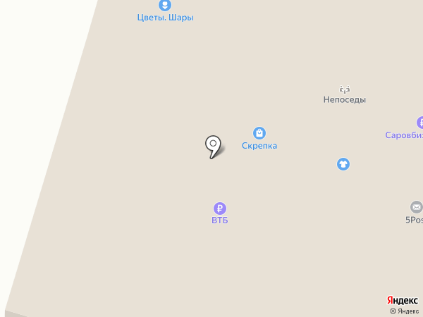 НОРМА на карте Бора