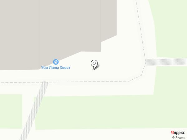 Доктор Айболит на карте Нижнего Новгорода