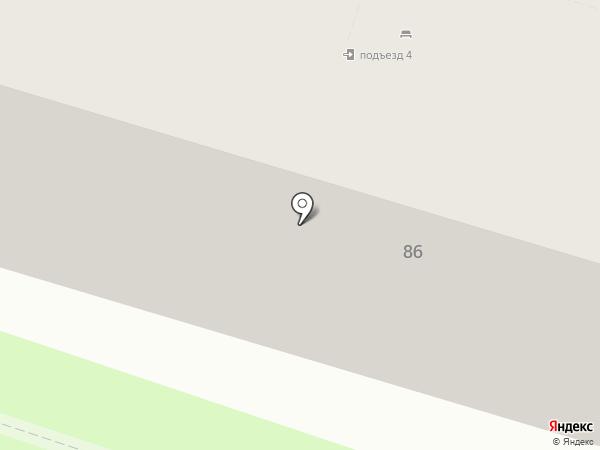 Гастроном на карте Бора