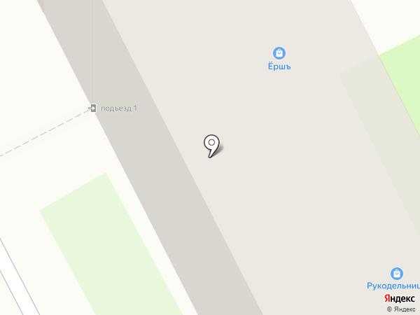 Рукодельница на карте Бора
