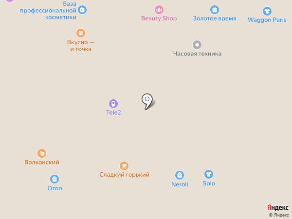 Affliction на карте Нижнего Новгорода