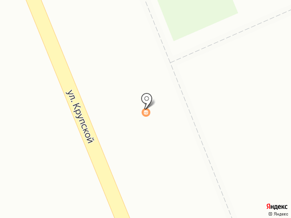 Киоск фастфудной продукции на карте Бора