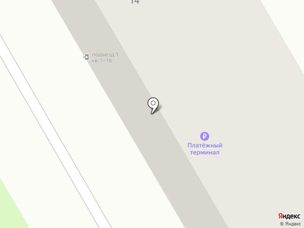 Чайка на карте Бора