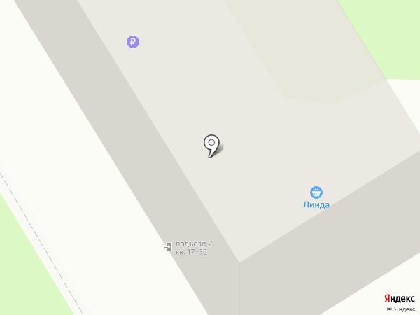 Линда на карте Бора
