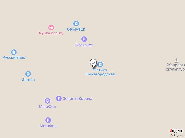 Kuchenland Home на карте Нижнего Новгорода