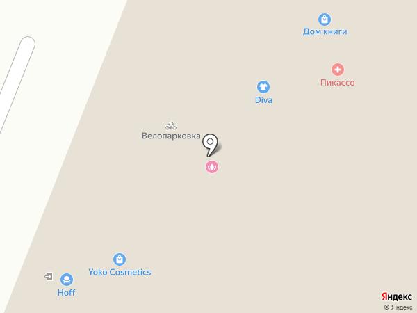 Elita на карте Нижнего Новгорода