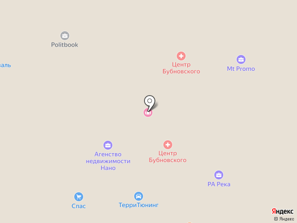 Душка Махрушка на карте Нижнего Новгорода