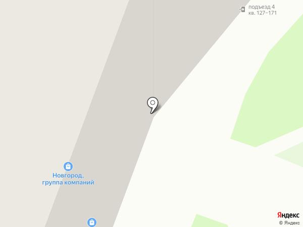 Арт-тепло на карте Нижнего Новгорода