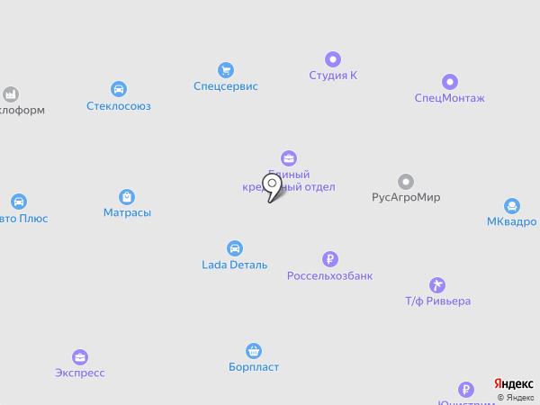 Автоматика на карте Бора