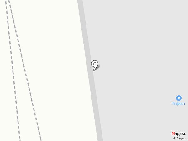 Гефест на карте Бора