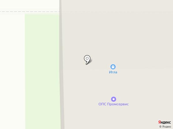 Промсервис на карте Афонино