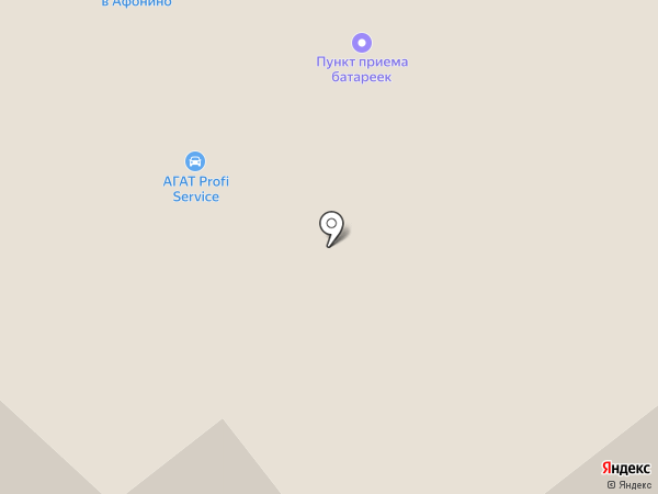 Infiniti Прайд кар на карте Афонино