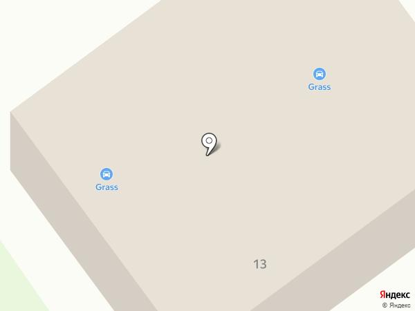 Автосервис на Стеклозаводском шоссе на карте Бора