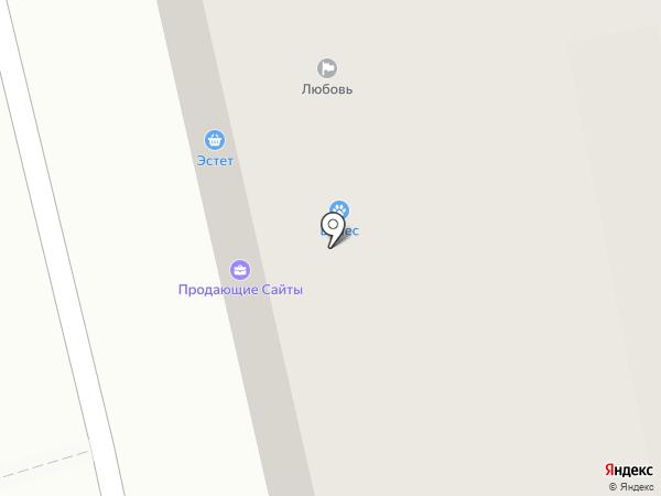 Изоком на карте Афонино