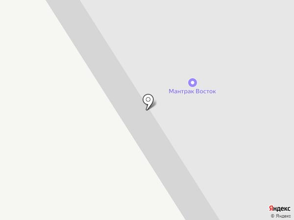 Мантрак Восток на карте Бора