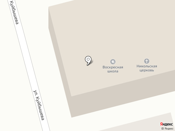 Приход Церкви во имя святителя Николая Чудотворца на карте Бора