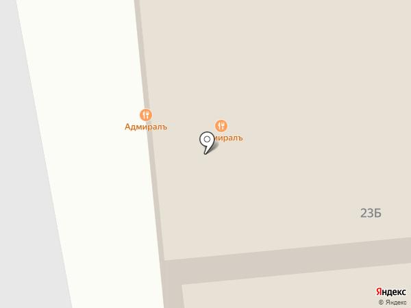 Адмиралъ на карте Бора