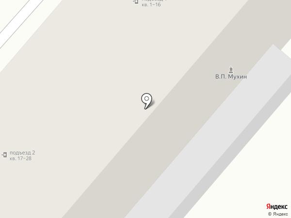 Наш ветеран на карте Ждановского