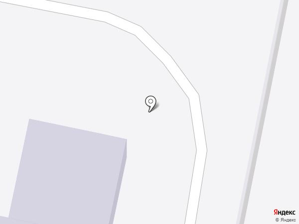 Колосок на карте Ждановского