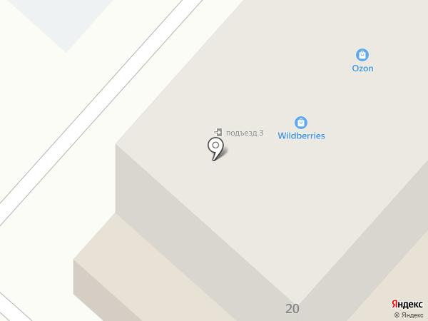 ДУККР на карте Ждановского