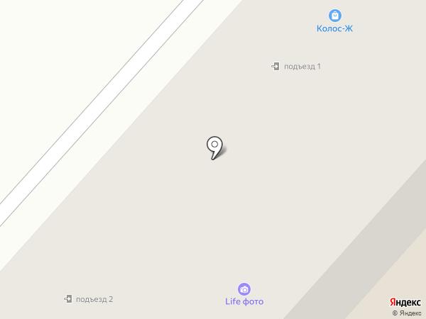Связист на карте Ждановского