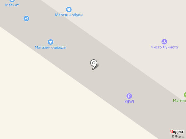 Магазин обуви на ул. Чугунова на карте Бора