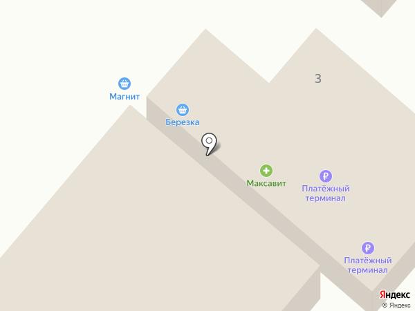 Продуктовый магазин на Школьной на карте Ждановского
