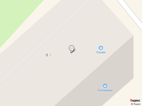 Сезам на карте Бора