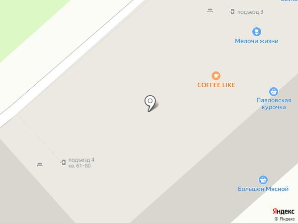 Большой мясной на карте Бора