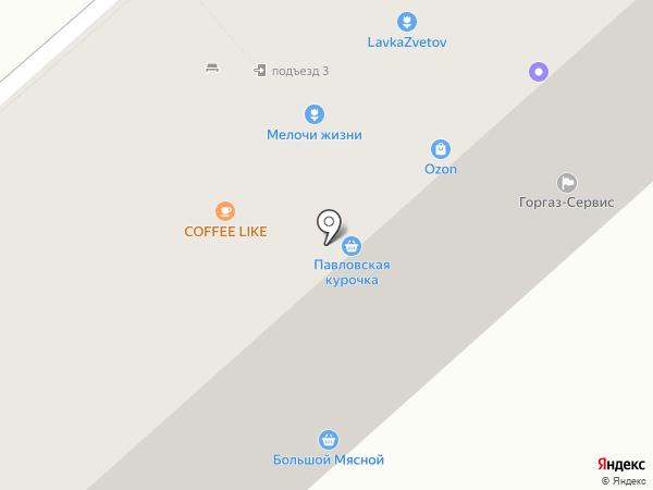АвтоКлуб на карте Бора