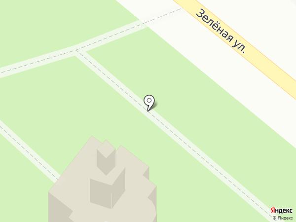 Часовня в честь иконы Пресвятой Богородицы Неупиваемая Чаша на карте Ждановского