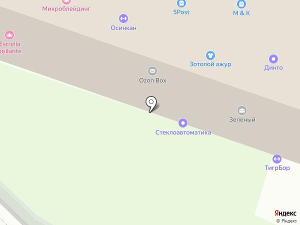 Ювелирная мастерская на карте Бора