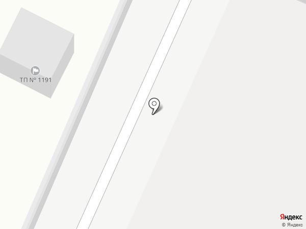 Прибрежный-5 на карте Бора