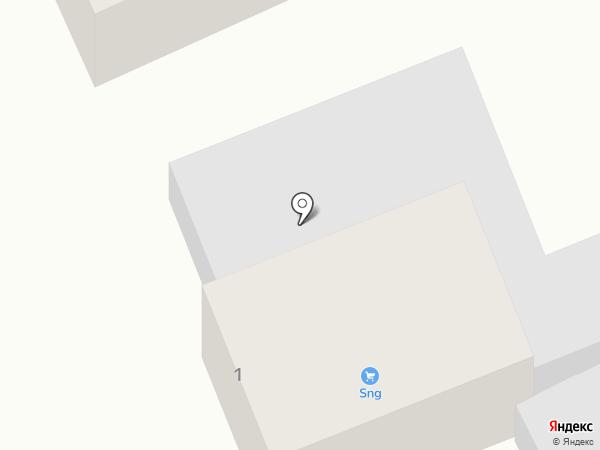 Шиномонтажная мастерская на карте Ржавки