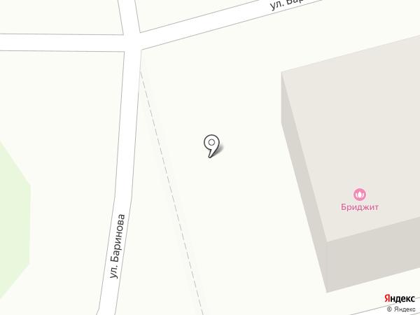 Бриджит на карте Бора