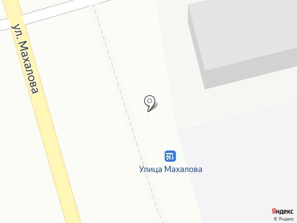 Аврора на карте Бора