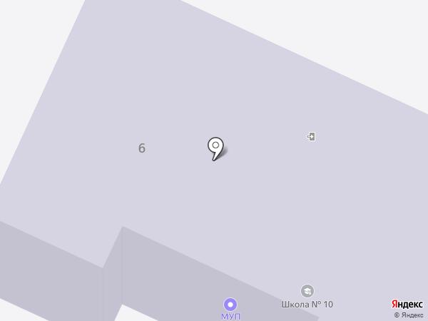 Управление благоустройства городского округа г. Бор, МУП на карте Бора