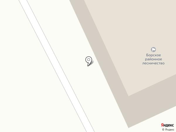 Нижегородский лесопожарный центр, ГБУ на карте Бора
