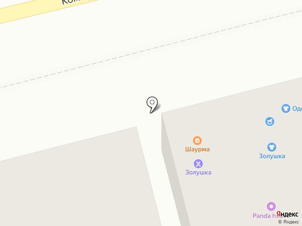 Портниха на карте Бора