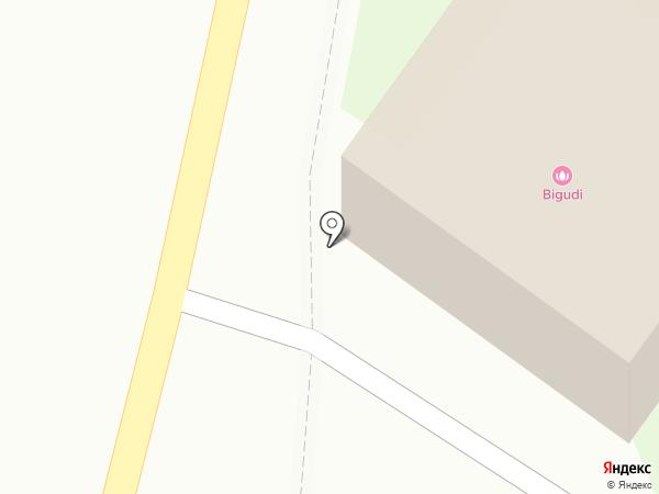 Бигуди на карте Бора
